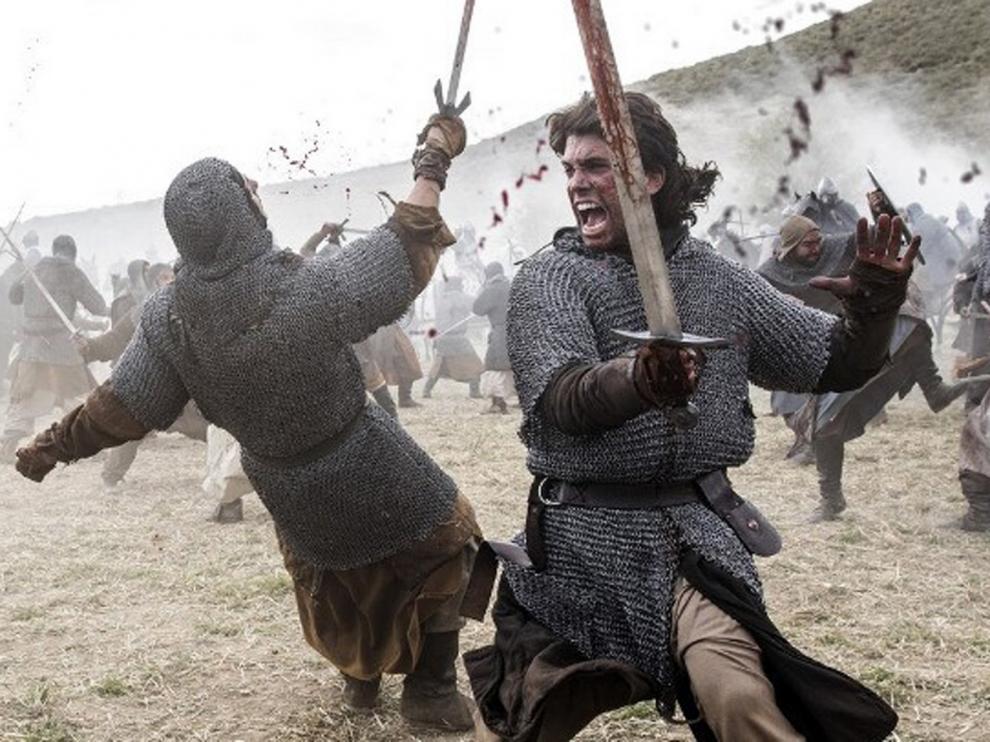 """Primeras imágenes de """"El Cid"""" encarnado por Jaime Lorente"""