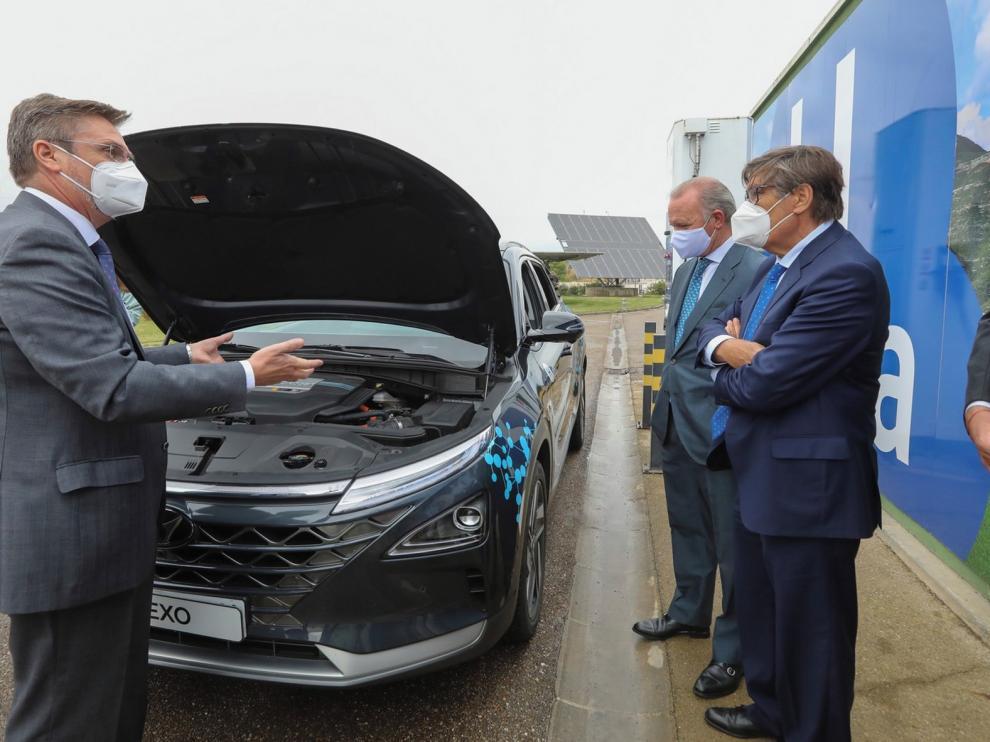 Walqa recibe el primer coche de hidrógeno matriculado en España