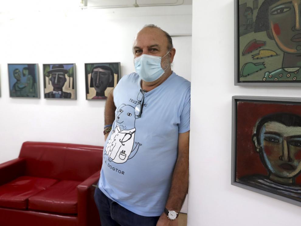 La obra de Antonio Santos en La Carbonería y Anómina