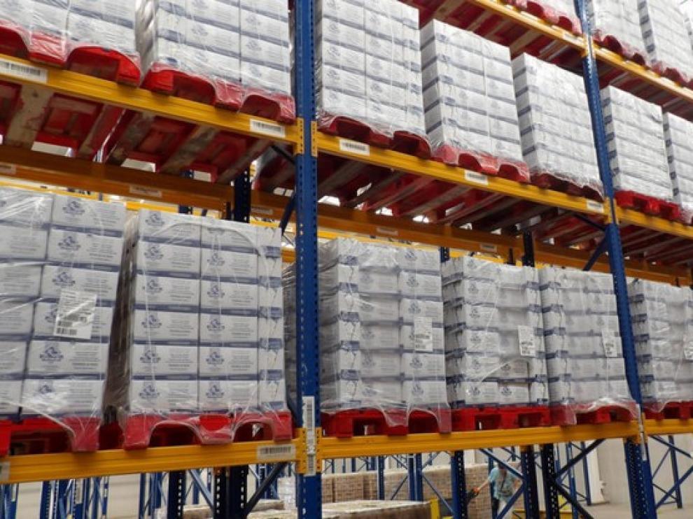 Aragón recibirá 764.527 kilos de alimentos para ayudar a personas desfavorecidas