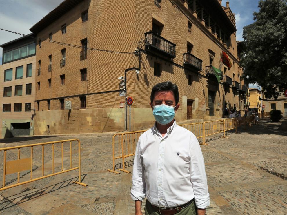 La ordenación de la red de agua, objetivo inmediato de la Alcaldía de Huesca
