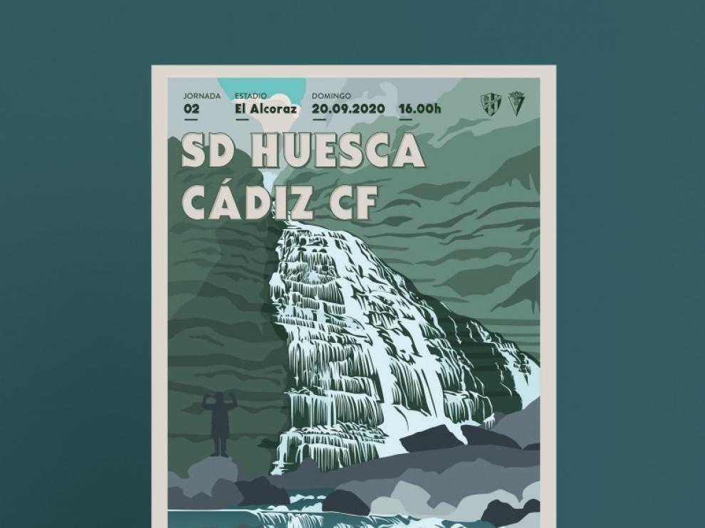 Ordesa y Monte Perdido, protagonista del cartel