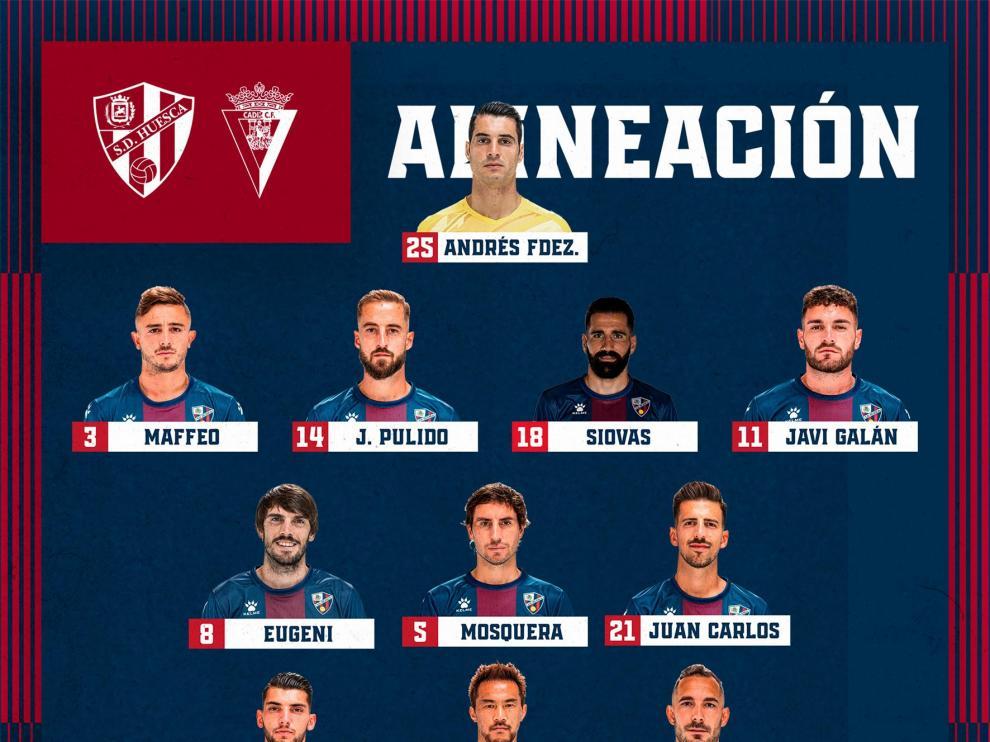 El Huesca vuelve a chocar con el Cádiz (0-2)