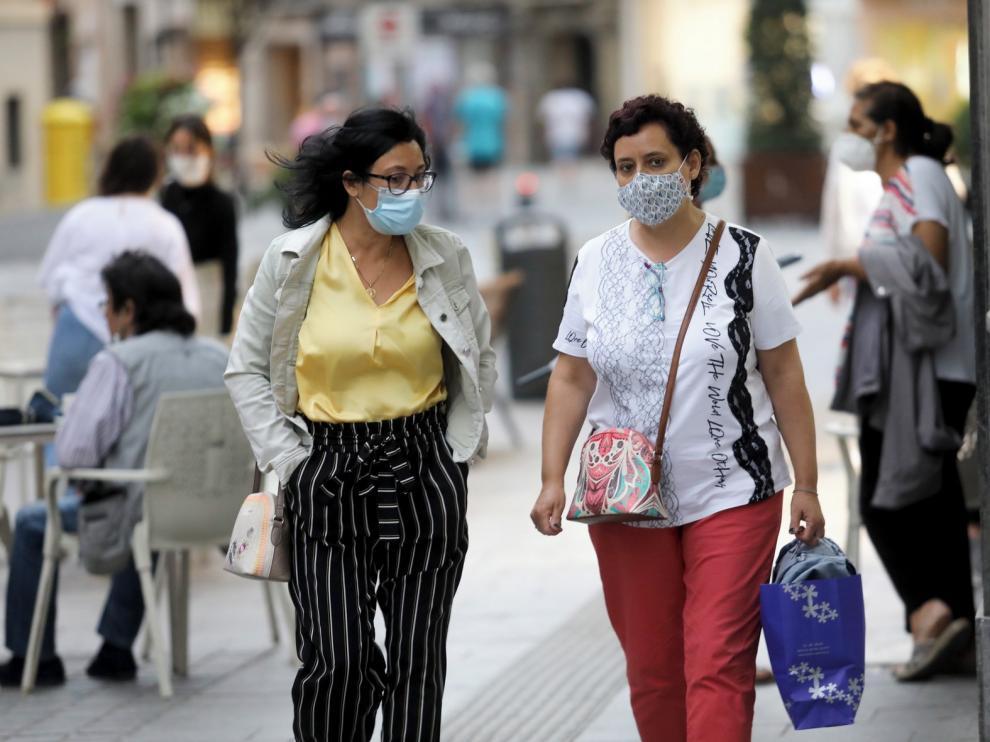 El Gobierno inicia el reparto de 414.000 mascarillas en Aragón