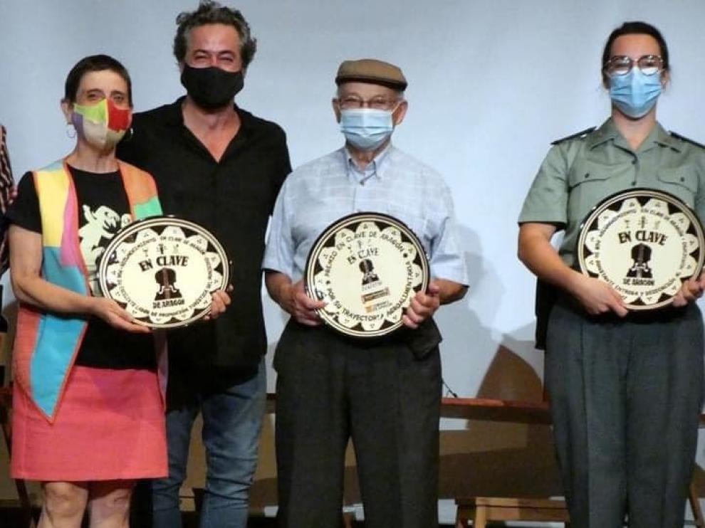En Clave de Aragón premia el arraigo en el ámbito rural