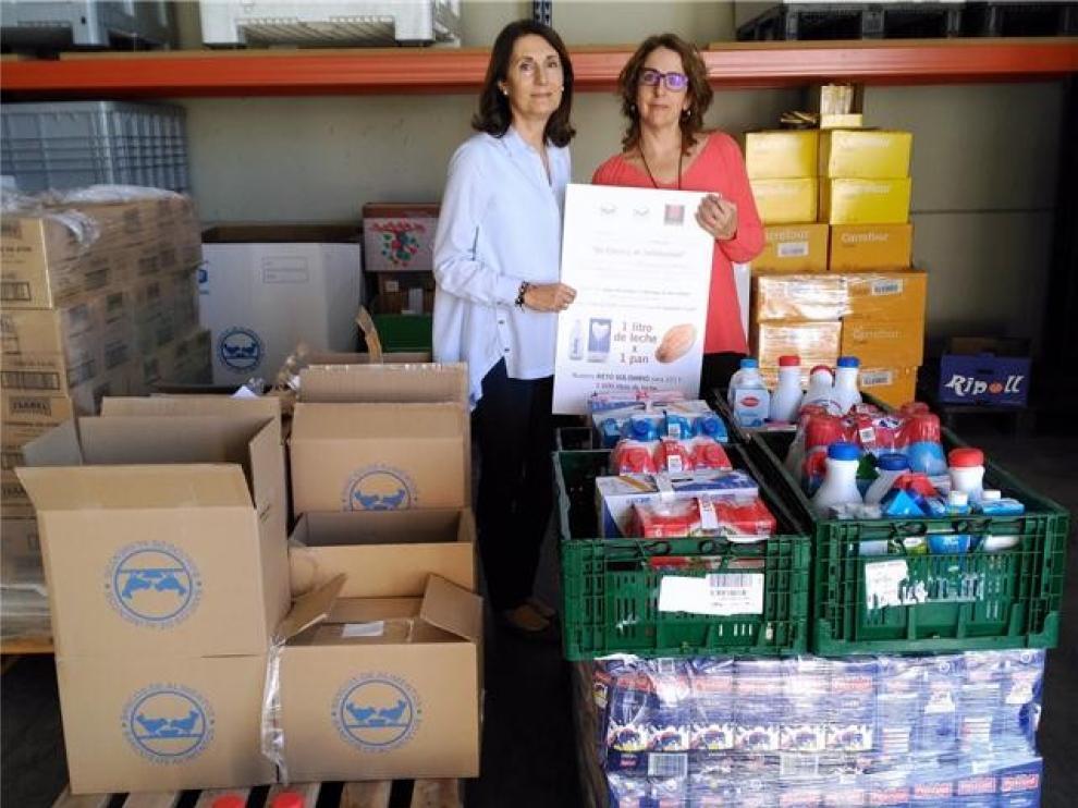"""Pastelería Tolosana adelanta su campaña del """"Chusco Solidario"""" para recoger leche"""