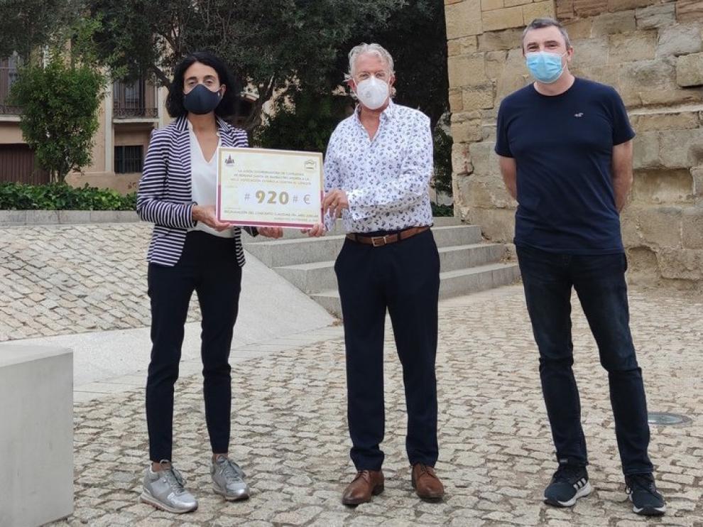 La Junta de Cofradías de Barbastro muestra su solidaridad con la AECC