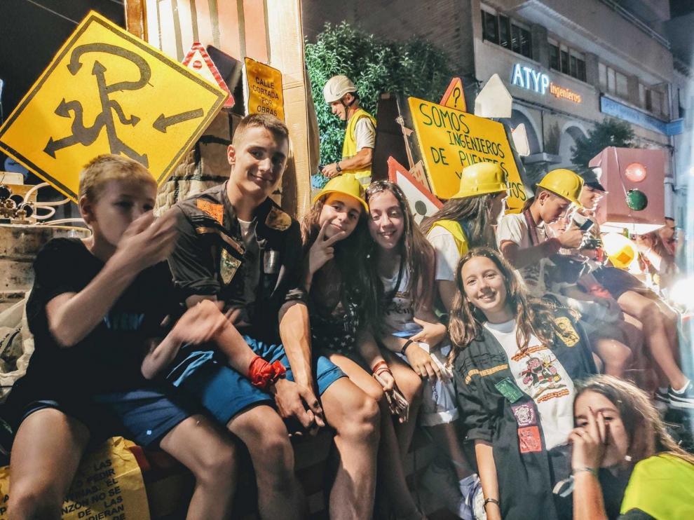 Las peñas de Monzón cuidan el espíritu de las fiestas que explotará en 2021