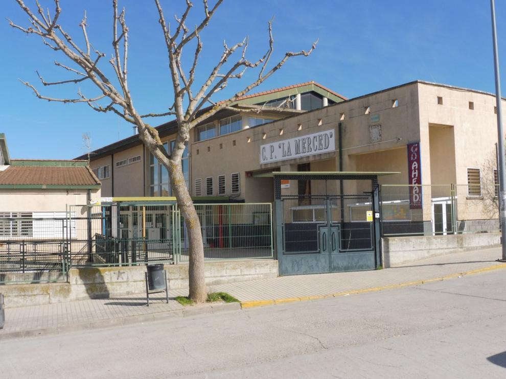 Cerradas dos aulas del colegio La Merced de Barbastro a causa de la covid
