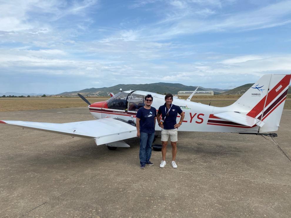 Temporada atípica para el aeródromo de Santa Cilia