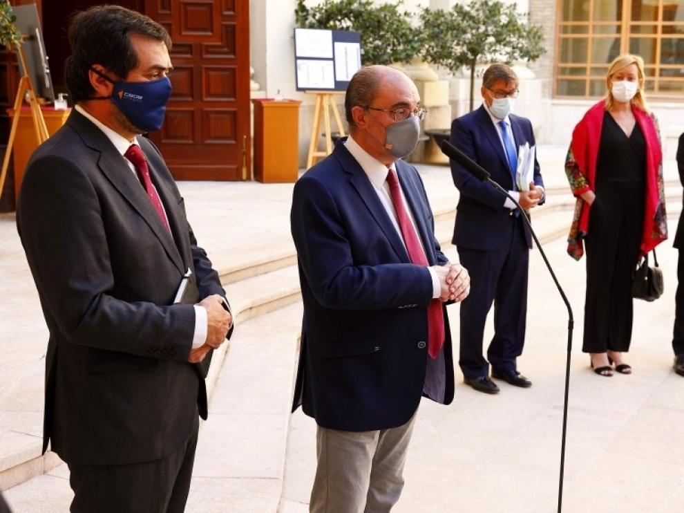Aragón cita a sus empresas para captar fondos de la Unión Europea