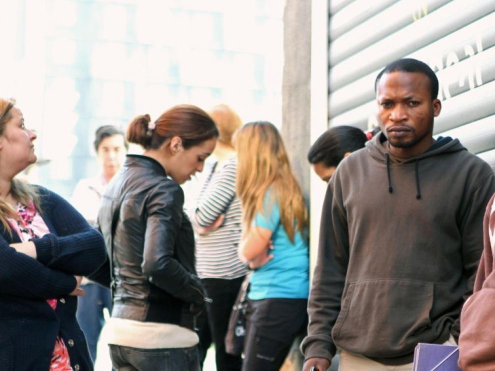 Desciende la afiliación de extranjeros a la Seguridad Social en Huesca