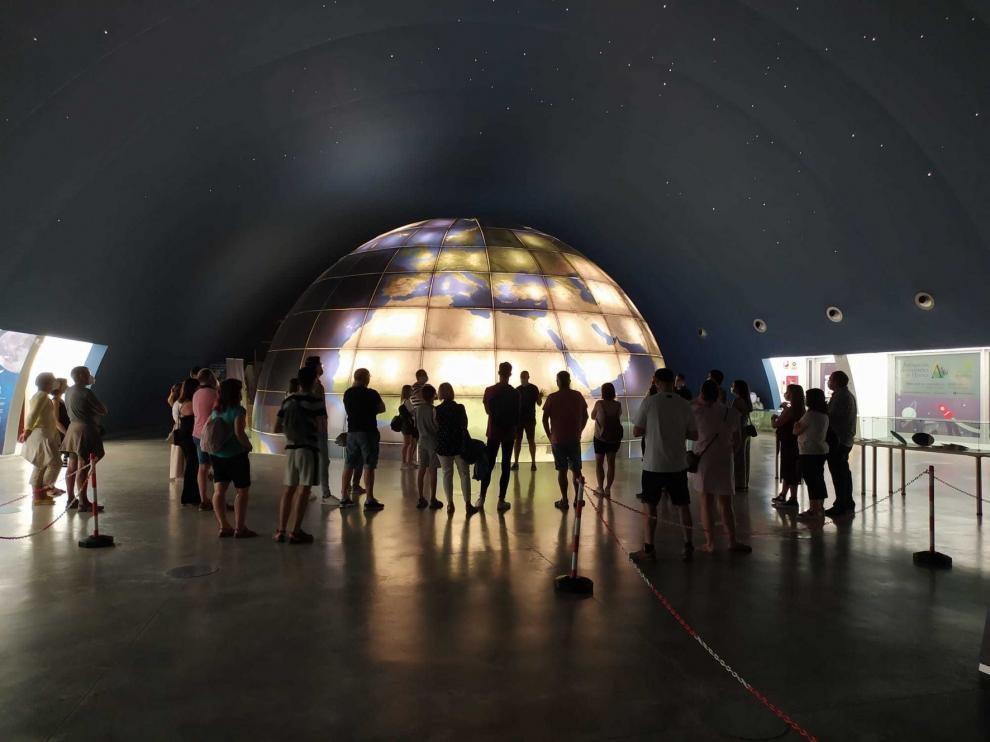 El Planetario de Aragón dice adiós al Septiembre Stars Music