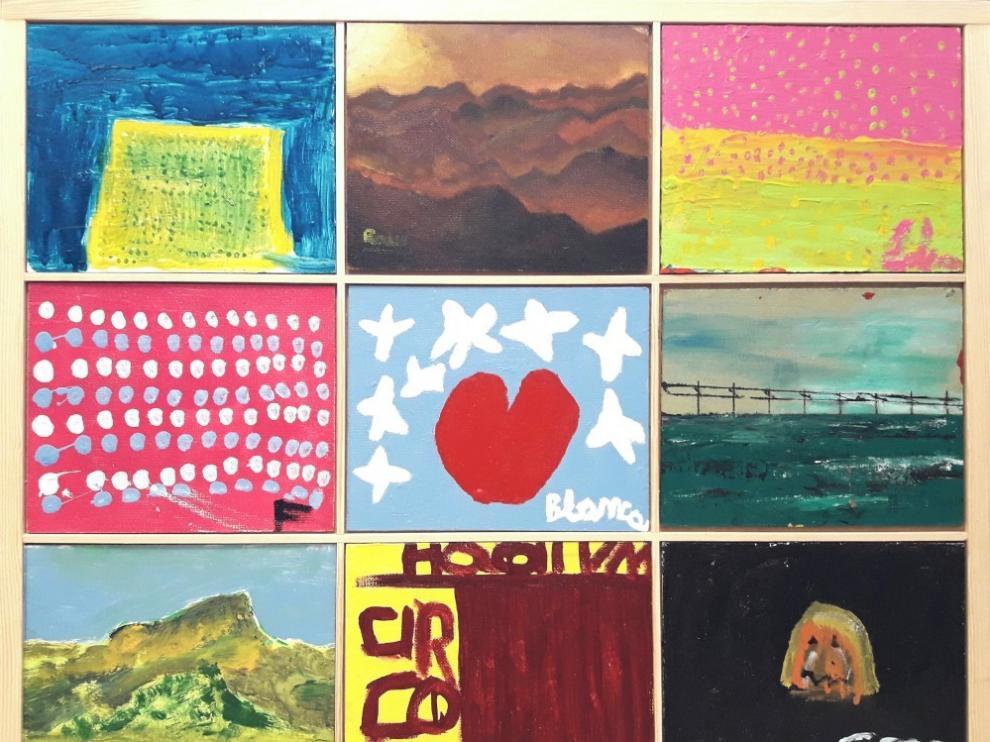 Asapme abre la muestra de su taller de pintura