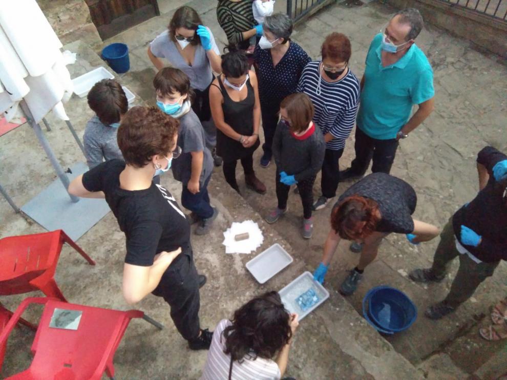 Biscarrués realiza sus jornadas artísticas y de patrimonio