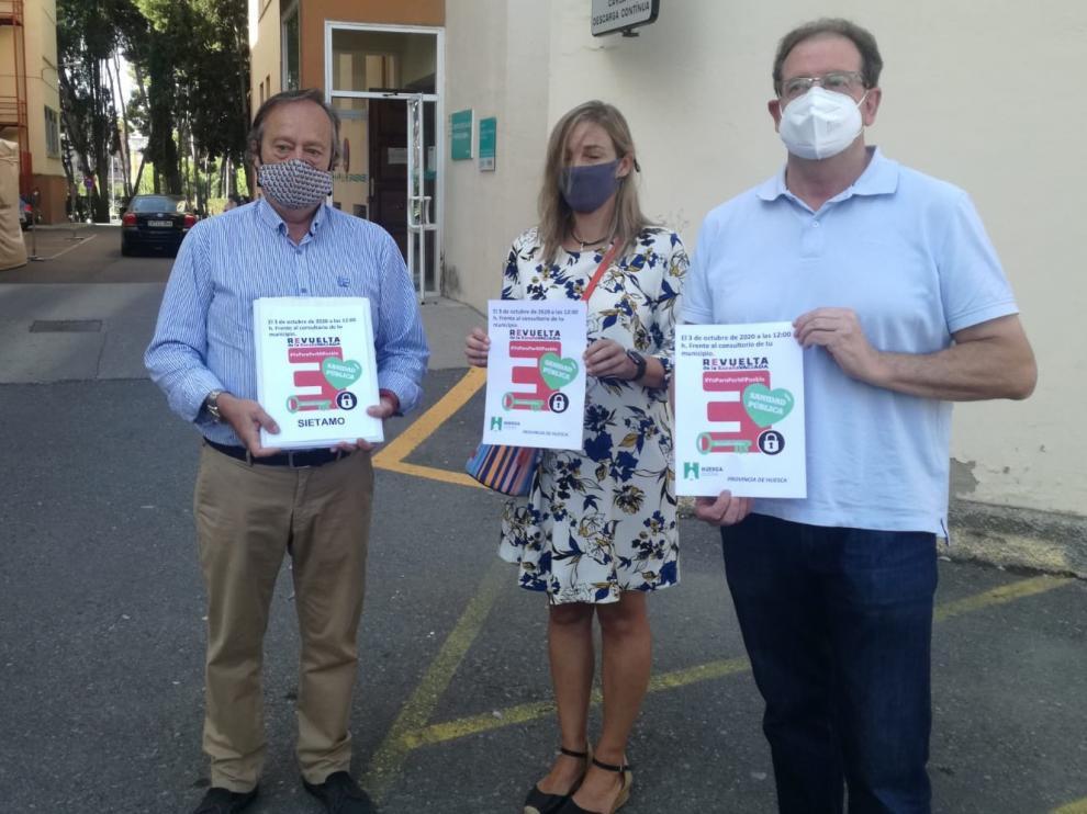 Huesca Suena convoca a un paro de cinco minutos en apoyo de la Sanidad Pública rural