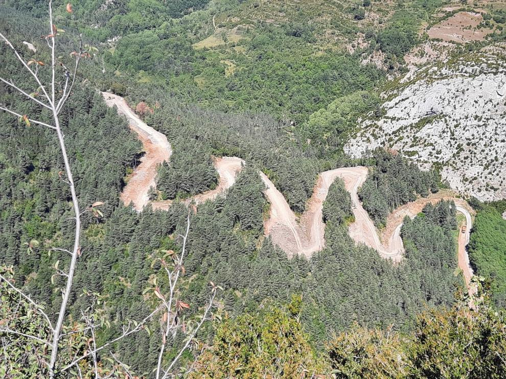 Piden mejoras en travesías por el cierre de la N-260 entre Campo y Seira