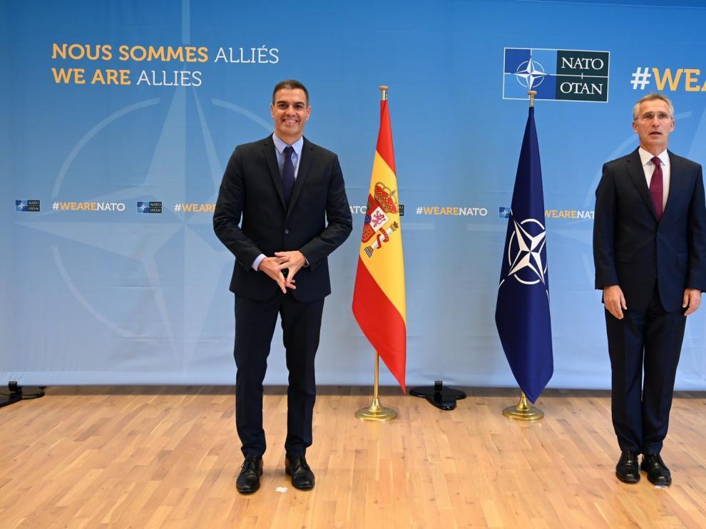 España se compromete a seguir preservando la unidad de la Otan
