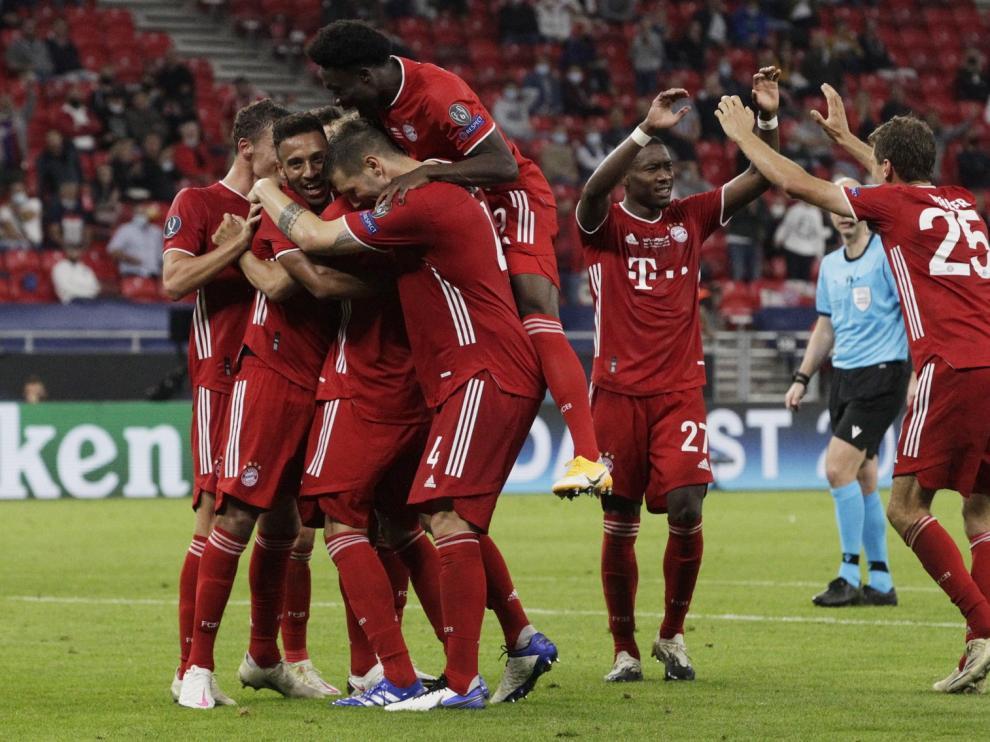 El Bayern de Múnich se lleva la Supercopa de Europa ante un heroico Sevilla