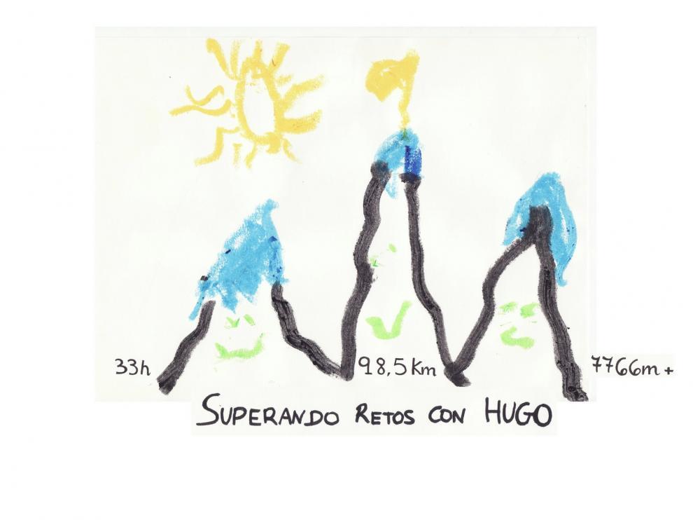 """""""Superando retos con Hugo"""" hará cima con la solidaridad"""