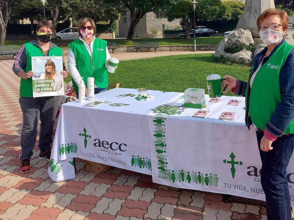 La AECC Sabiñánigo-Alto Gállego, todo suma para investigar y curar