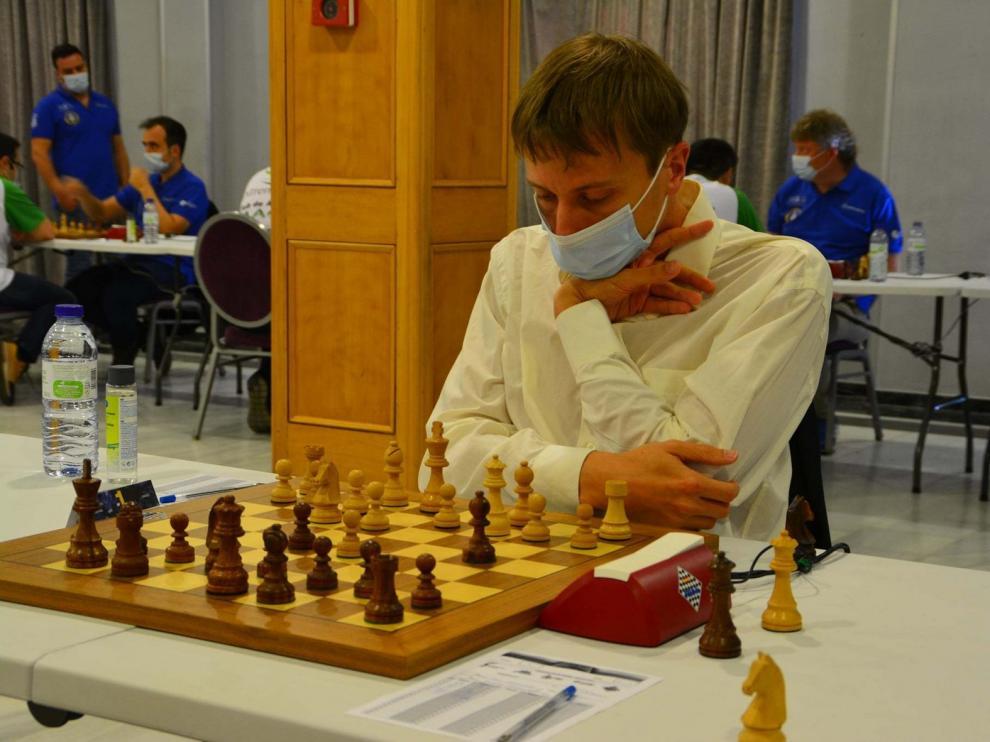 Jaime Casas pierde ante Solvay en la tercera ronda del Nacional de ajedrez