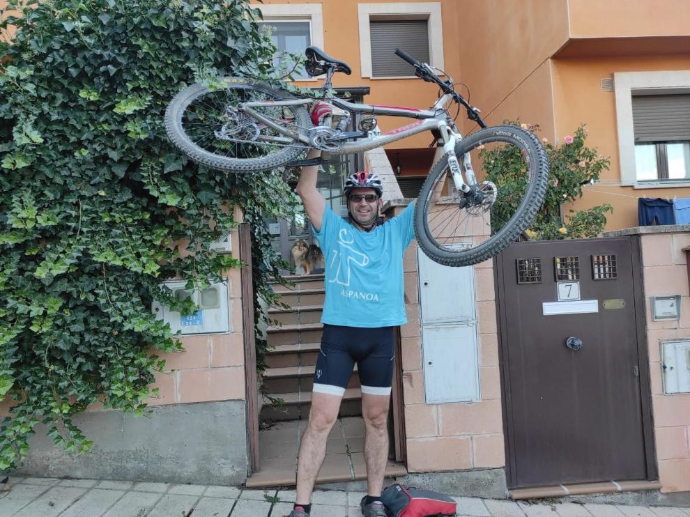 Desde Stuttgart a Soria se pedalea este año por Aspanoa