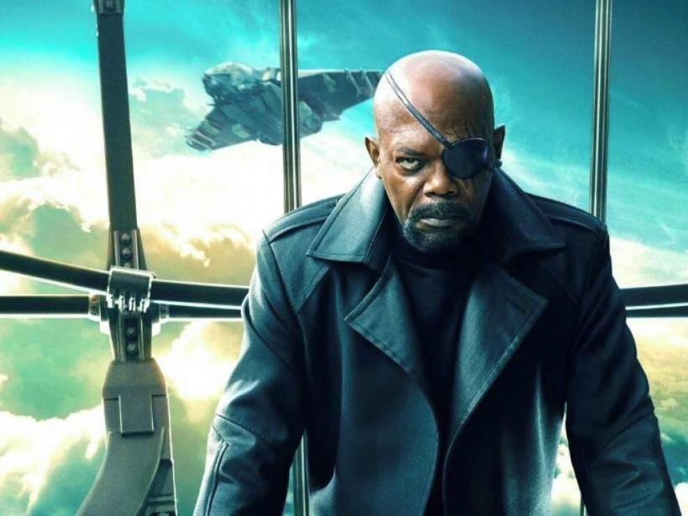 Samuel L. Jackson repite su papel de Nick Furia en una serie de Disney+