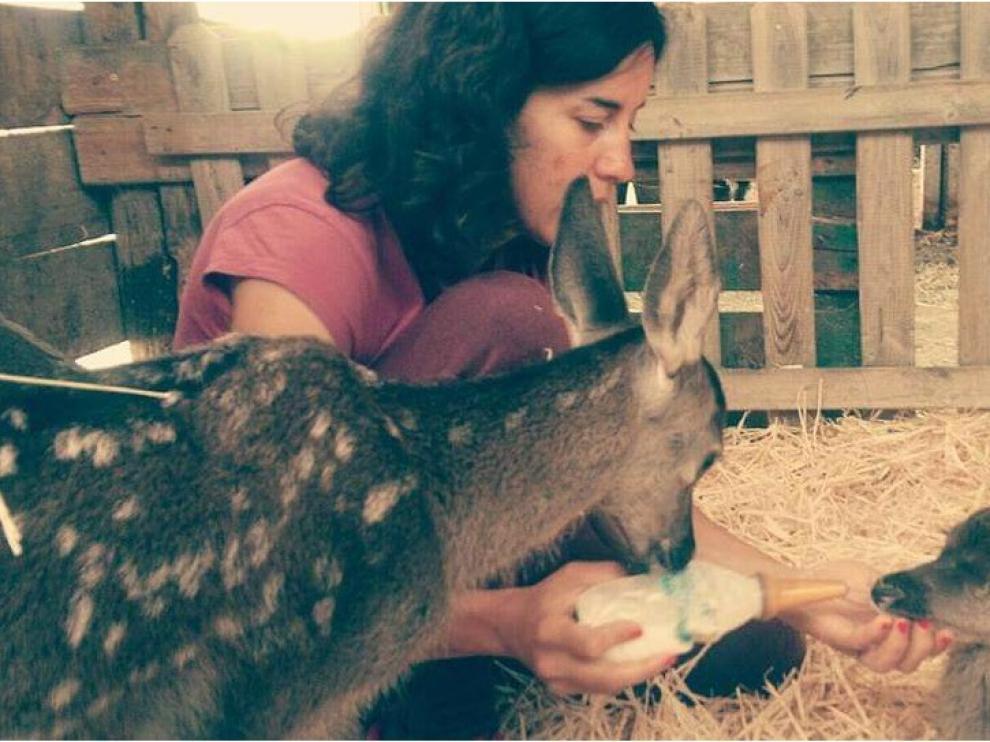 """Erika Barón Soriano: Mi pasión son los animales, con lo cual también lo es mi trabajo"""""""
