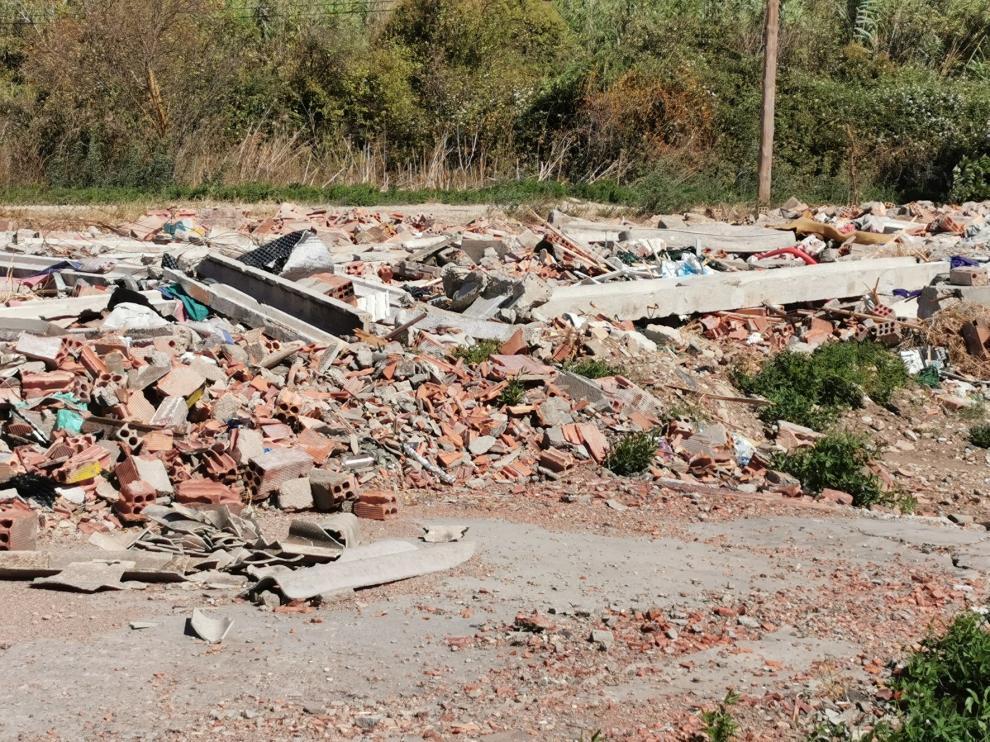 Cs alerta de posibles irregularidades en la gestión de residuos en el camino Torrente de Fraga