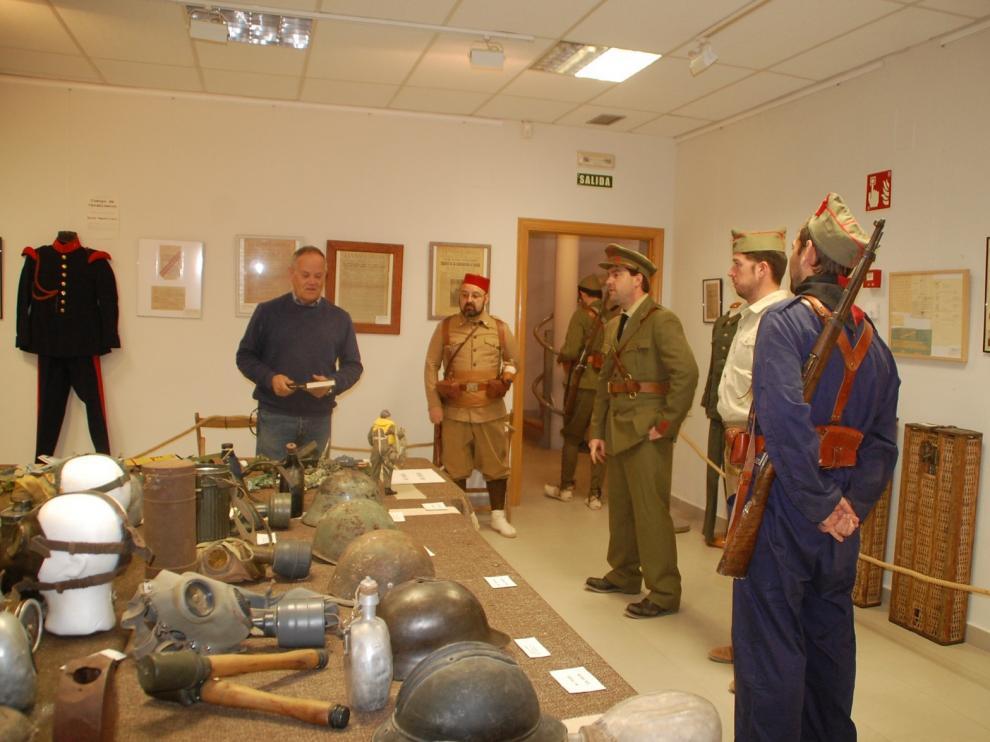 Robres reabre al público en Centro de Interpretación de la Guerra Civil en Aragón