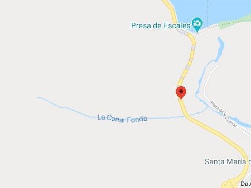 Muere un motorista en un accidente en la N-230, en Sopeira