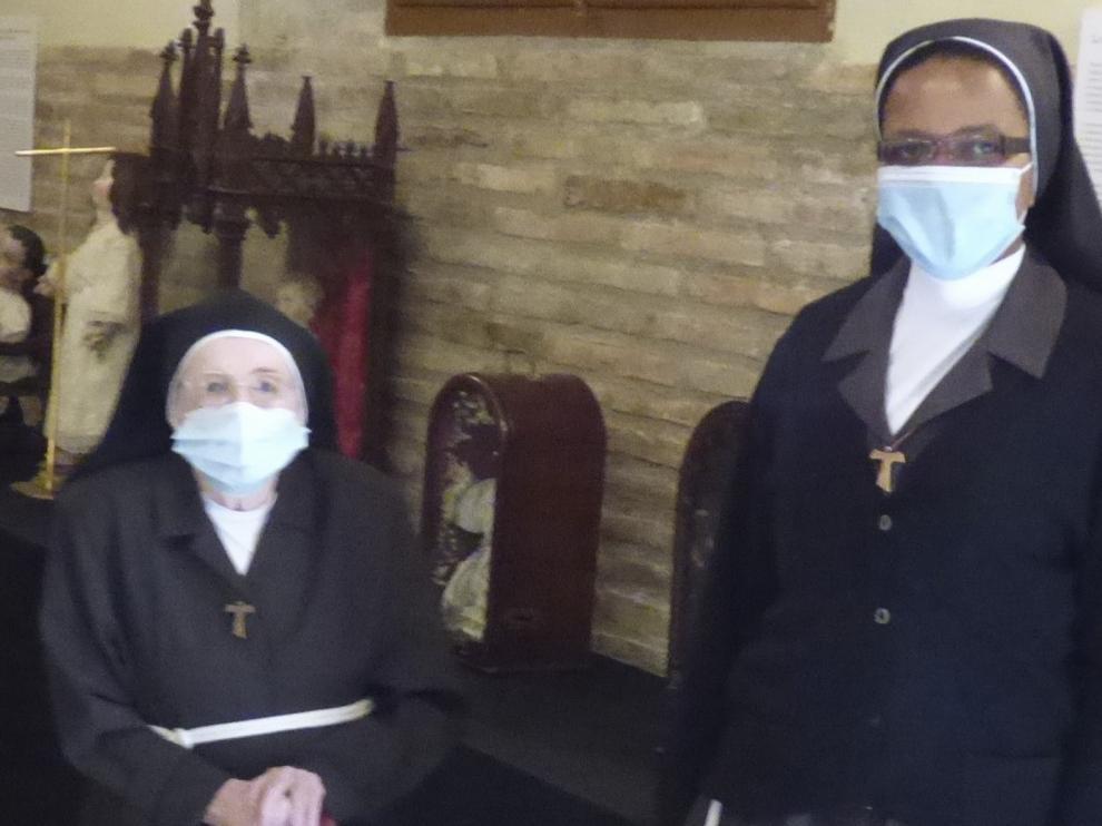 Las Capuchinas de Barbastro, hogar de personal sanitario durante seis meses