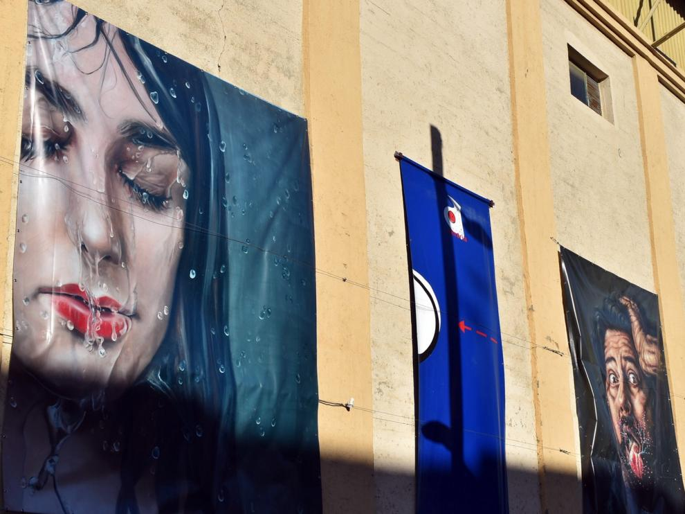 Monzón se convierte en una gran galería de arte al aire libre