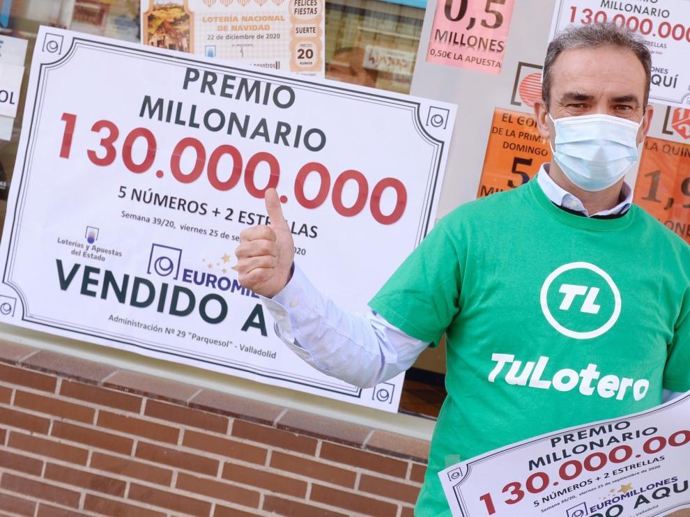 """Un vecino de Valladolid gana la """"Champions"""" de los premios"""