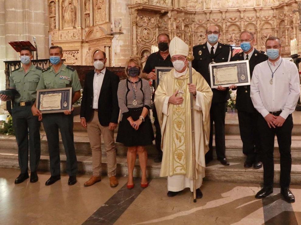 El obispo Ángel Pérez oficia una misa en honor a Nuestra Señora de la Merced
