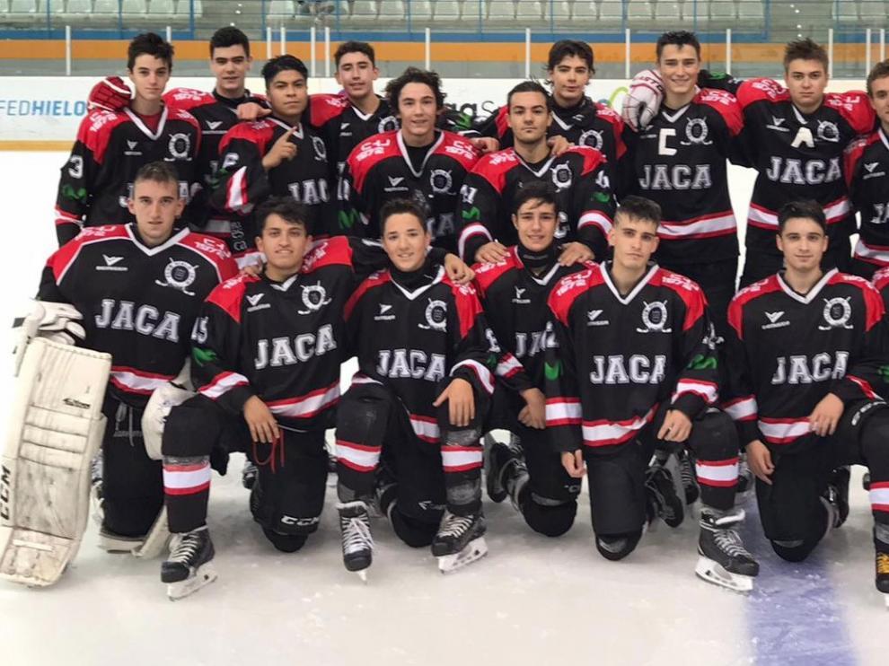 El equipo Sub 20 del Club Hielo Jaca de Hockey venció al Puigcerdà (5-2)