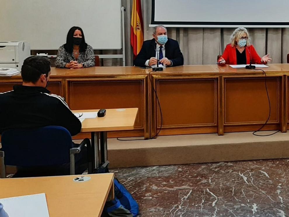 La Escuela Nacional de Protección Civil celebra un curso de gestión de emergencias en Huesca