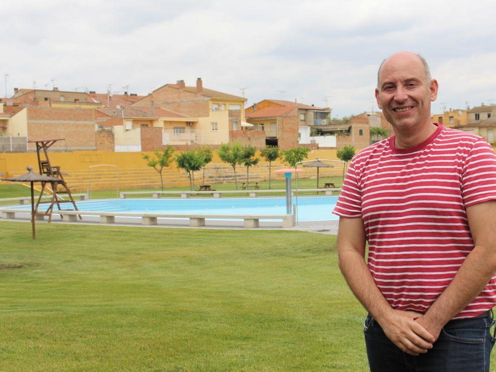 """Juan Carlos García, concejal de Deportes de Binéfar: """"Hablamos con todos los clubes de Binéfar"""""""