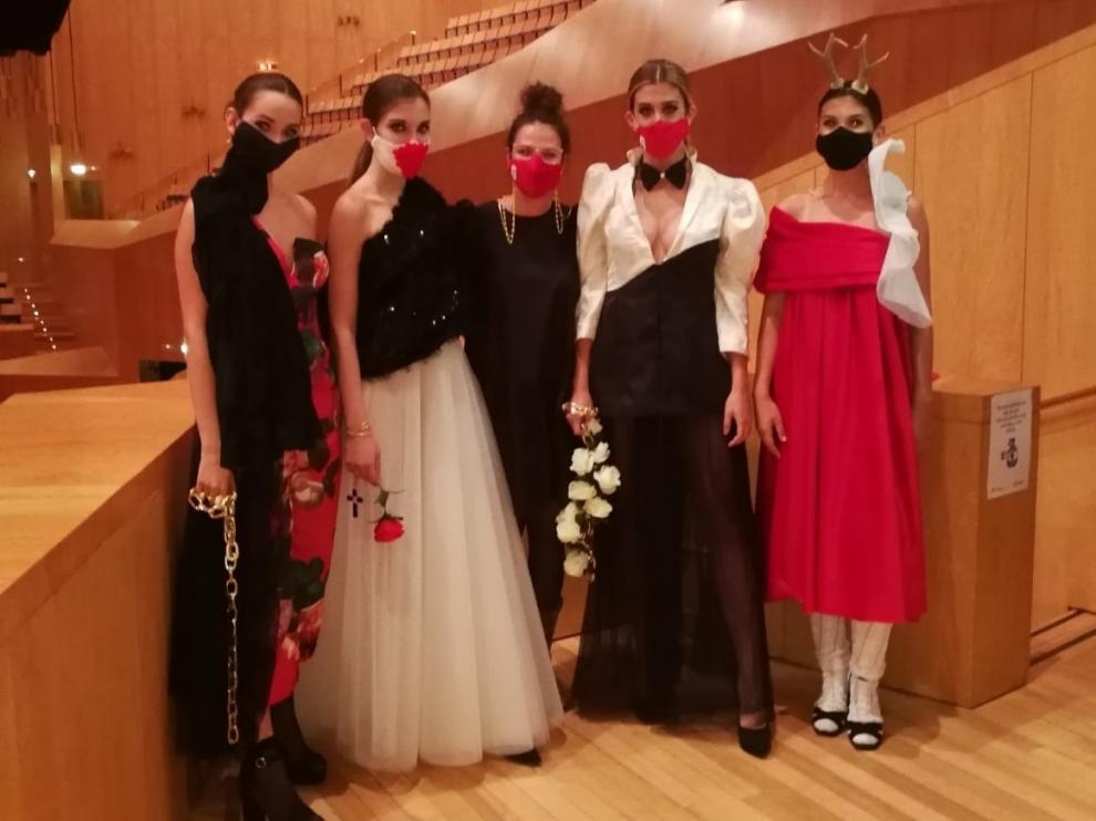 """Orosia Monlat satisfecha de su paso por """"Aguja Goyesca"""""""
