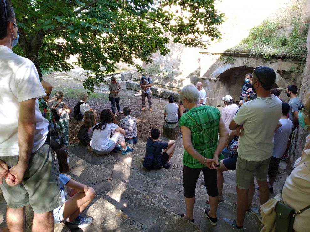 La oferta de visitas guiadas y ecoturismo de la Hoya de Huesca continuarán en octubre