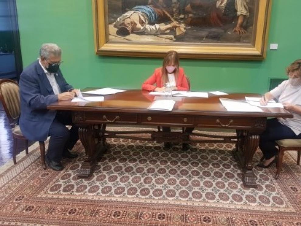 El Gobierno de Aragón aporta 50.000 euros a la Universidad de Zaragoza para cooperación sobre contención del coronavirus