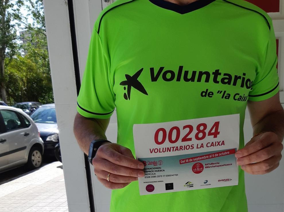 """Fundación """"La Caixa"""" y Caixabank colaboran con la 8ª Marcha Aspace Huesca"""