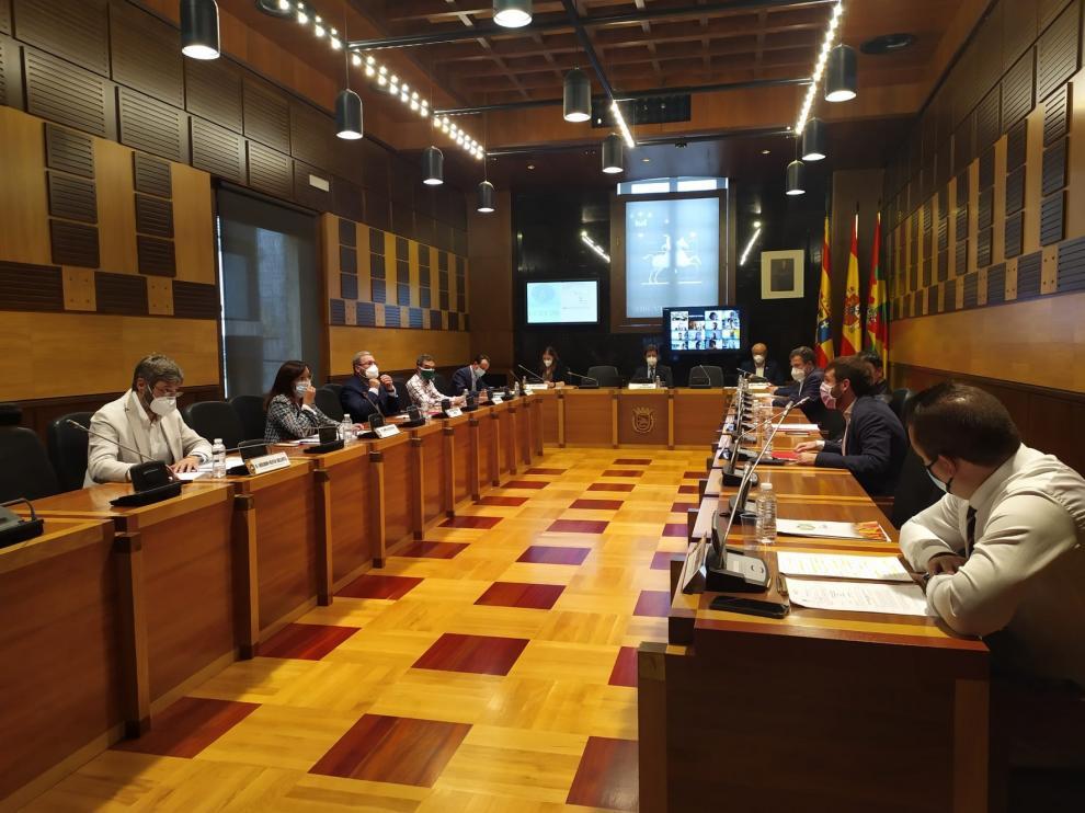 Ciudadanos Huesca consigue el apoyo para la elaboración de un plan municipal contra la ocupación ilegal de viviendas