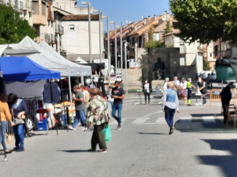 La Feria de San Miguel de Graus supera las expectativas