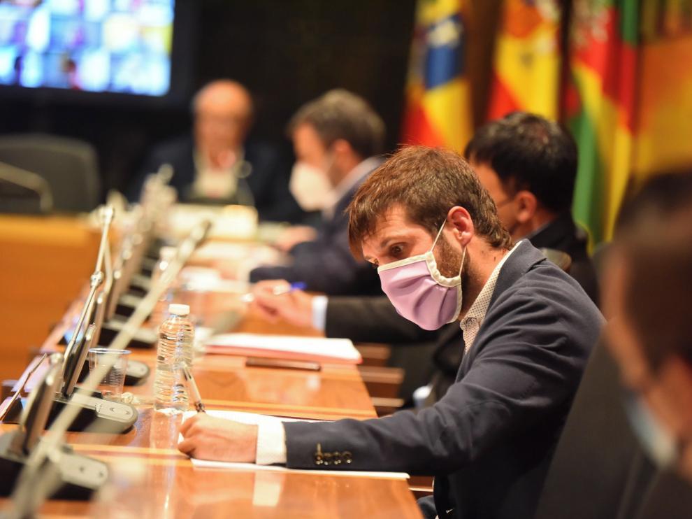 Toma de posesión de Guillermo Boix como concejal de Con Huesca Podemos Equo