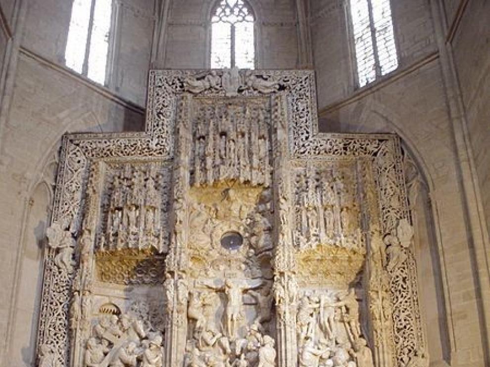La seo oscense celebra 500 años de la firma de su retablo mayor