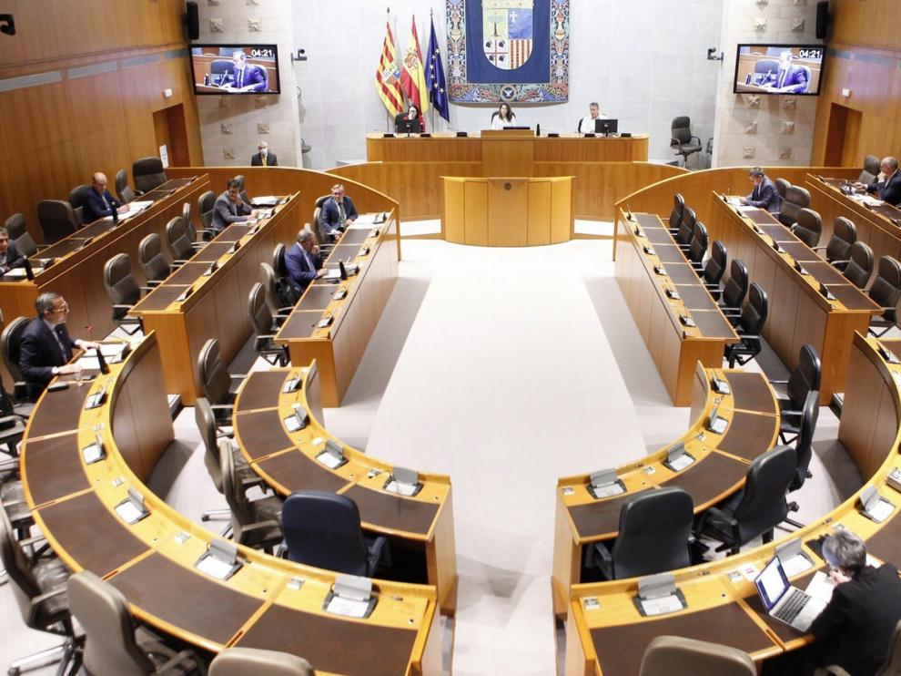 Las Cortes de Aragón celebrarán el Debate sobre el estado de la Comunidad el 8 y 9 de octubre