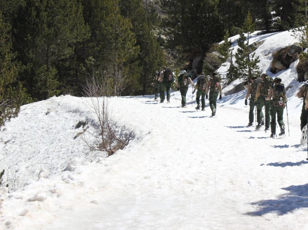 La Campaña Antártica del Ejército se prepara en el Pirineo aragonés