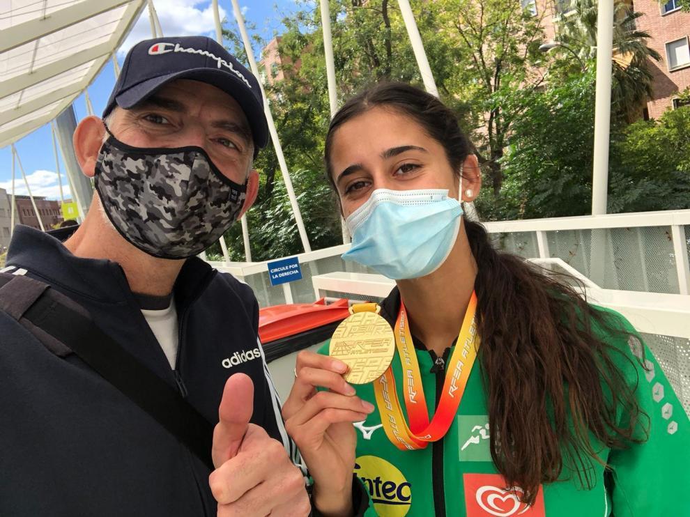 Oro de Teresa Santolaria e Iván Martín (Intec-Zoiti) y plata de Pol Oriach (Hinaco)
